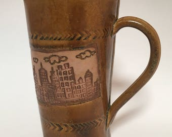 Ceramic Cityscape Mug