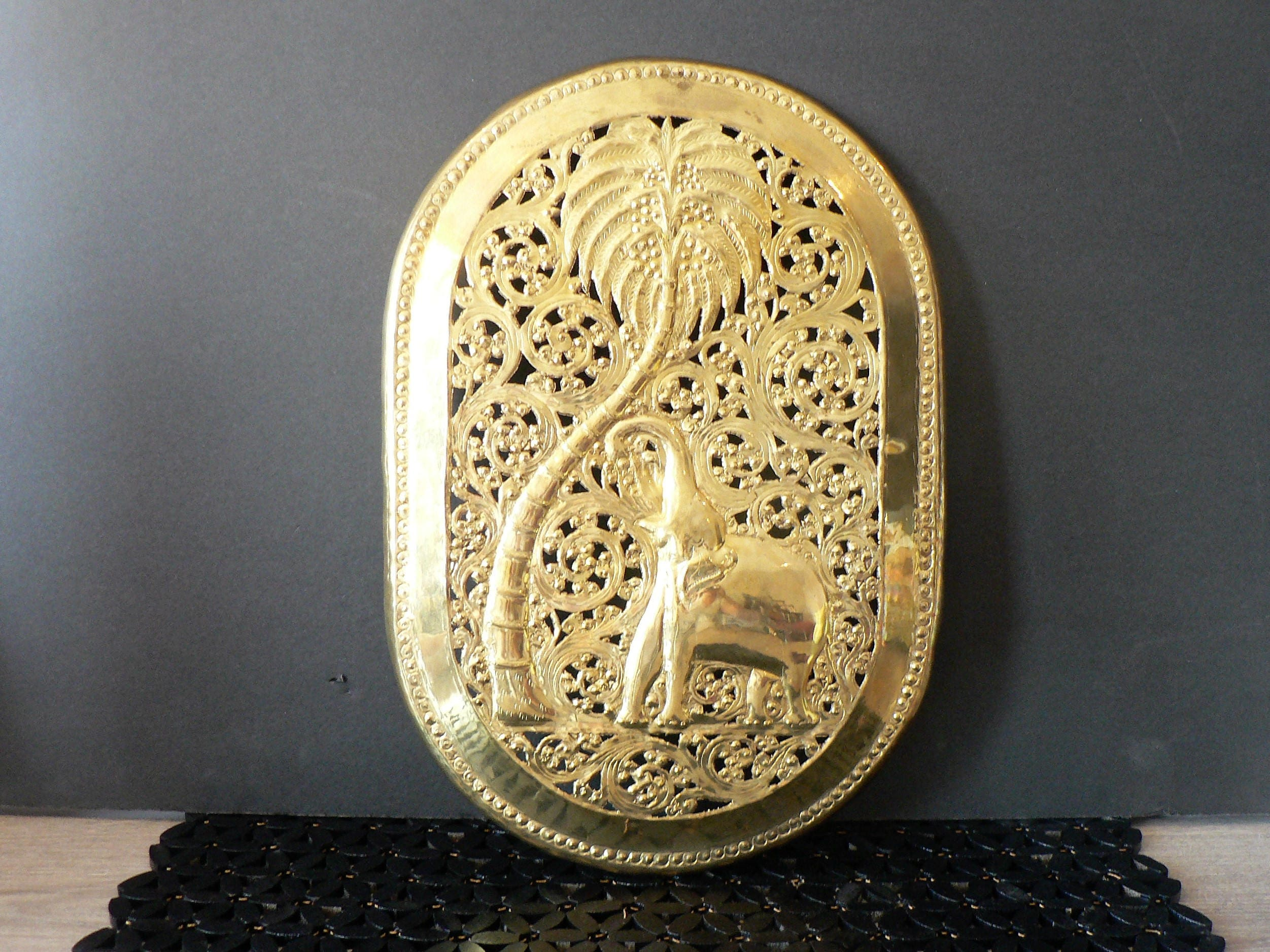 Awesome Brass Wall Decor Mold - Art & Wall Decor - hecatalog.info