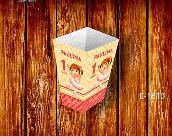 Popcorn boxes with the theme of #DoraLaExploradora only in #YanJos