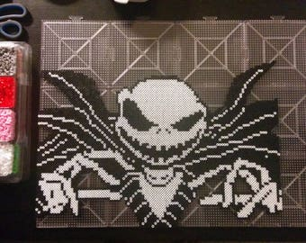 Nightmare Before Christmas Jack Skellington Perler