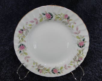 Creative Regency Rose Bread Plate 2345 EXCELLENT!