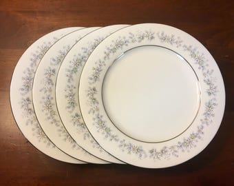 Noritake Marywood Salad Plates - Set of 4 - Pattern #2181