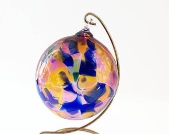 Vintage Spirit Ball - Glass Ball - SunCatcher - Gazing Ball - Friendship Ball