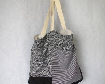 Womens Bag, Linen Tote Bag, Big Bag, Grocery Bag, Shopping Bag, Shoulder Bag, Travel Bag,  Beach Bag, Large Bag