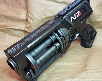 "Mass Effect Inspired N7 ""Night Flying Rodent"" Modified Nerf Maverick Steampunk Cosplay LARP Birthday Gift Fallout Pirate SciFi"