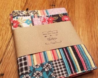 Flannel burp cloth set of 2