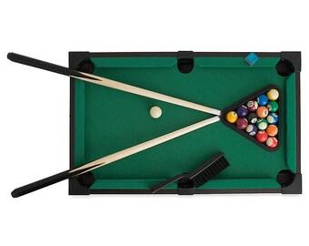 "20"" Mini Tabletop Pool Billiards"