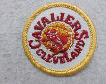 Cleveland Cavaliers Basketball Throwback Sew On Patches