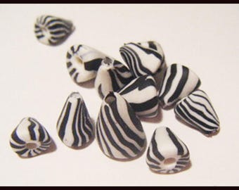 ♥ 12 charms berlingots ♥ polymer clay Fimo beads