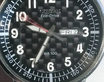 Very nice gents Citizen Eco Drive - just had new capacitor fitted