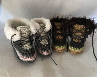 Arctic Style Baby Boots