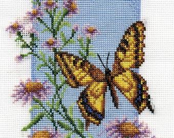 Cross Stitch Kit Swallowtail