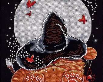 Counted Cross Stitch Kit Moonlit Dream