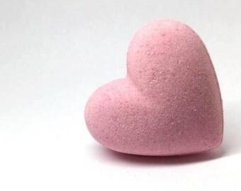 Glittery effervescent Heart