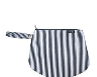 Stripes diaper clutch bag mommy diaper clutch stripes print diaper bag nappy bag