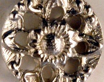 BU-157 Pierced Flower button 5/8th