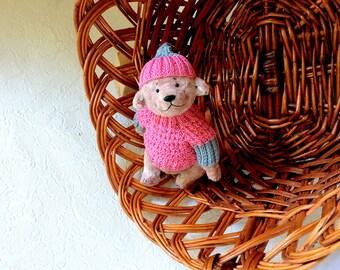 Stuffed animals Collectible bear Teddy bear artist bear plush toys plush bear unique gift birthday gift