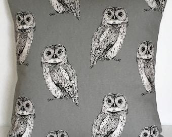 "16"" (40cm x 40cm) Prestigious Textiles Owl Cushion Cover"