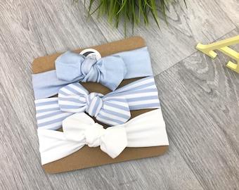 Mix & Match Any 3/ Baby Headband / Newborn Headband / Baby Headbands / Toddler Headband / Infant Headband / Baby Headwrap / Baby Bows