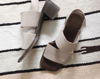 Vintage Sling Back Sandals