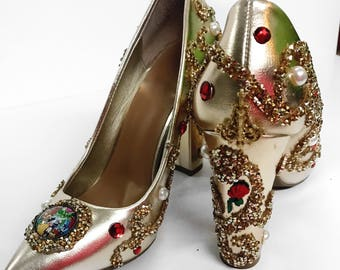 Beauty and the beast Heels