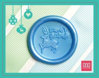 Season's Greetings - Design OD Wax Seal Stamp (DODWS0414)