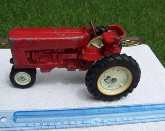 Red International Die Cast Tractor Ertl