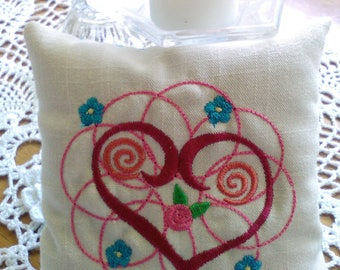 Pillow fragrant balsam sachet, gift, all natural, eco friendly, aroma therapy