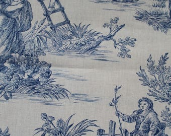 """Toile de Jouy"" fabric"