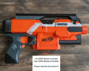 Nerf STRYFE Blaster Extensions / Modifications