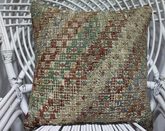 18x18 vintage sofa rectangular cover pillow floral kilim cushion cover indian furniture tissu azteque sofa cover 18x18 pillow covers 2127