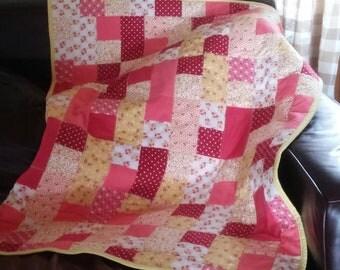 Bright Crib Quilt