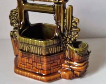 McCoy Wishing Well Planter circa 1950s