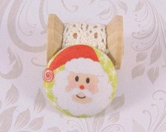 1 button 22mm x ref A23 Santa head