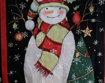 "SALE** SALE! Stay Warm - Panel - Susan Winget - 36"" Panel"