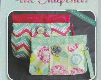 SALE! The SNAPchel - Clutch - Bag - Pattern - By Stitchin Sisters
