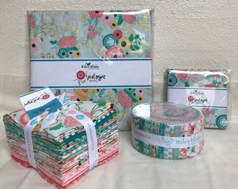 "Just Arrived! Just Sayin' by Jen Allyson - My Mind's Eye - Riley Blake - Jelly Rolls/Rolie Polies 2.5"" strips - C"