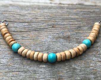 Stacker Bracelet Add 0n, Boho Bracelet, Layering Bracelet, Changeable Bracelet, Beaded Bracelet, Mix and Match Bracelet, Coconut Bracelet