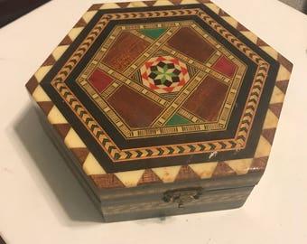 Buhi-work trinket box-