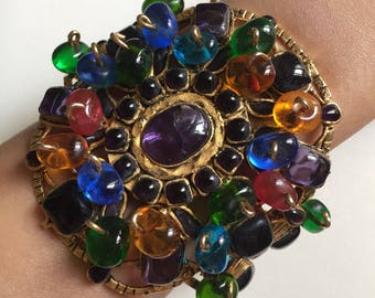 Chanel vintage bracelet by Gripoix