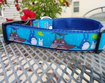 My Neighbor Totoro anime dog collar