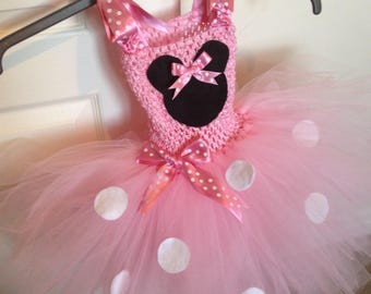 Tutu dress Minnie Mouse inspired