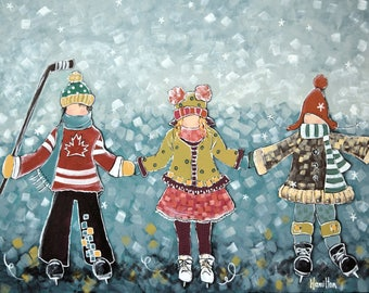 Good Friends Are Like Snowflakes: Limited Edition Reproduction