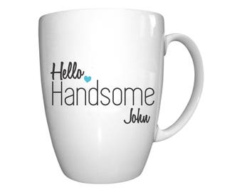 Personalised Statement Conical Mug - Handsome