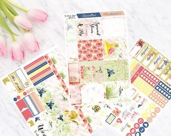 Robyn Horizontal Weekly Mini Kit Planner Stickers for Erin Condren LifePlanners