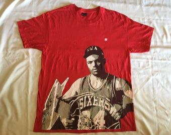 Undefeated charles barkley NWA role model t-shirt