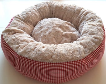 Bed Donut Dog Donut dog Pillow