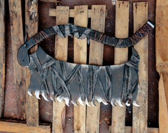 Hunter cosplay saw from Bloodborne, video game prop replica, Halloween prop