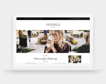 SALE! Vendela | Responsive Blogger Template