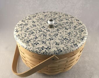 Decoupage Covered Basket
